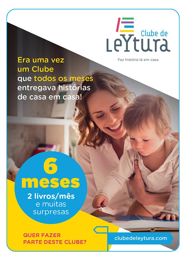 6 meses de subscrição do Clube de LeYtura